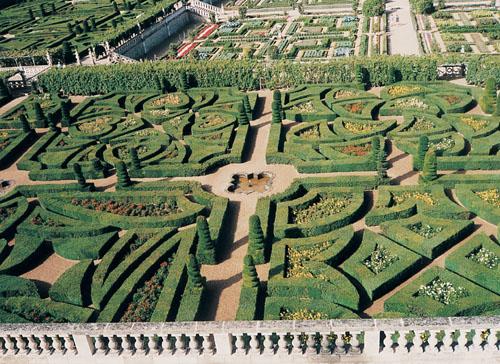 Francie - zahrady Vilandry