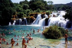 Chorvatsko - Krka