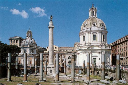 Itálie Řím - il Foro