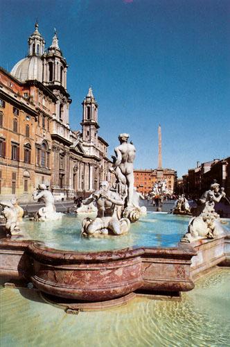 Itálie Řím - Piazza Navona