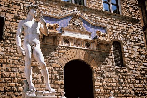 Itálie - Florencie - David