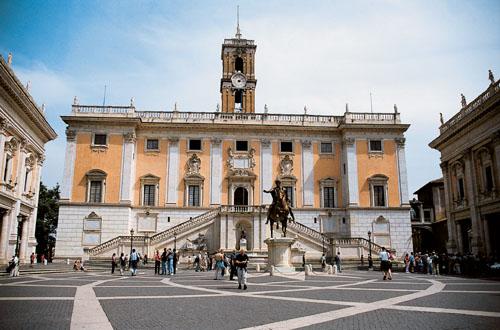 Itálie - Řím - kapitol