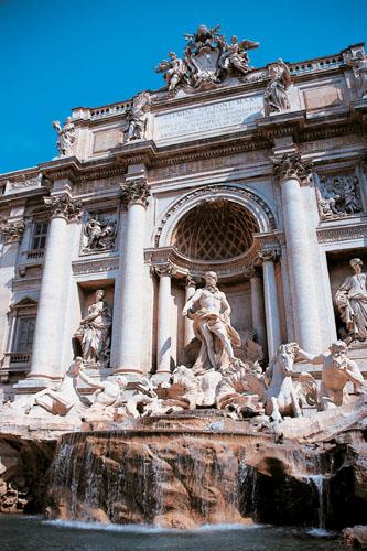 Itálie - Řím - Trevi