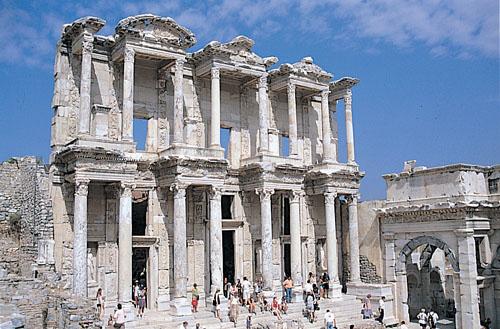 Turecko - Efes knihovna