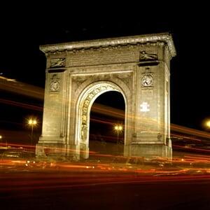 Bukurešť - triumfální oblouk