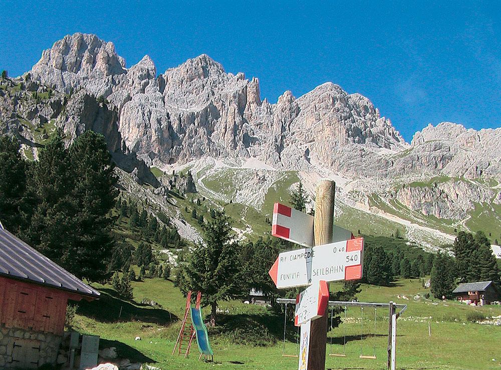 Srdce Dolomit II - Rosengarten, Latemar, Sella