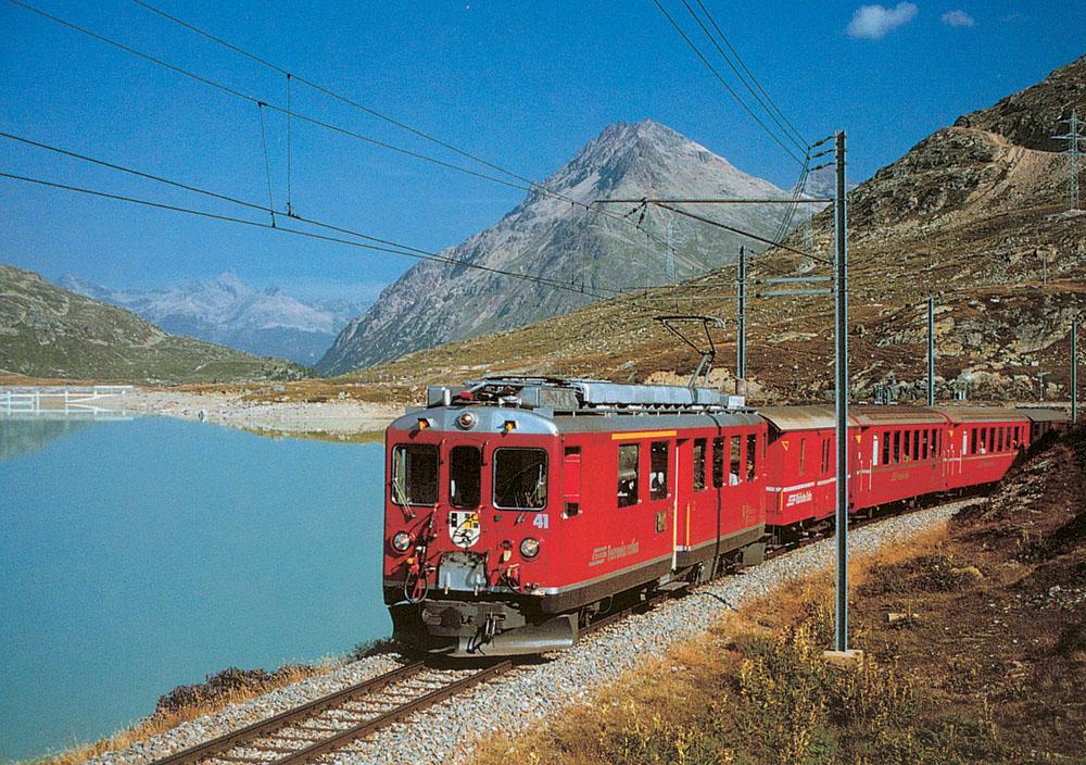 Svycarsko - vlak 3