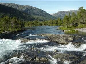 Vodopády a ledovce Norska - autobusem