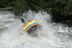 Salzach - Total rafting tour