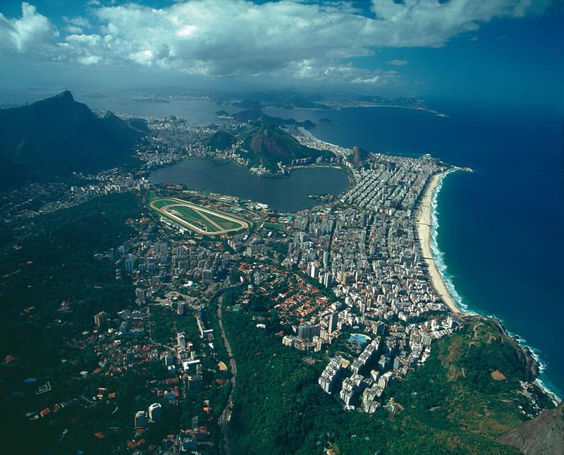 Rio de janeiro vodopády iguacu a tropický ostrov ilha bela