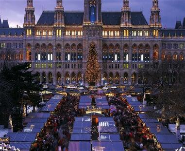 Víden-adventní trhy