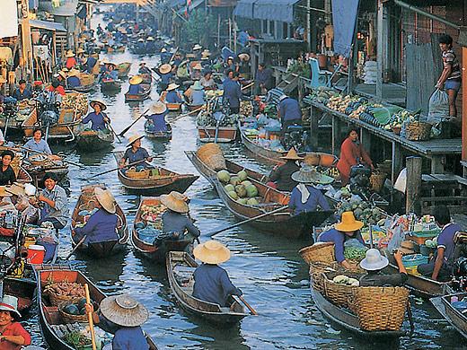 Foto - Cesta kolem světa (z Bangkoku)