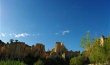 Languedoc a Roussillon, země moře, hor a katarských hradů