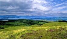 Pěšky od jihu k severu Skotska - chatky