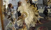 Benátky a karneval letecky