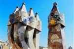 Barcelona Casa Battlo komíny