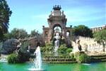 Barcelona fontána