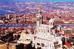 Marseille z vyhlídky
