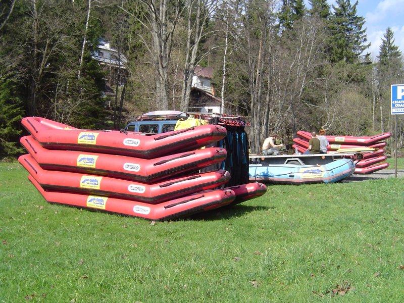 Foto - Vltava - Light rafting - půjčovna