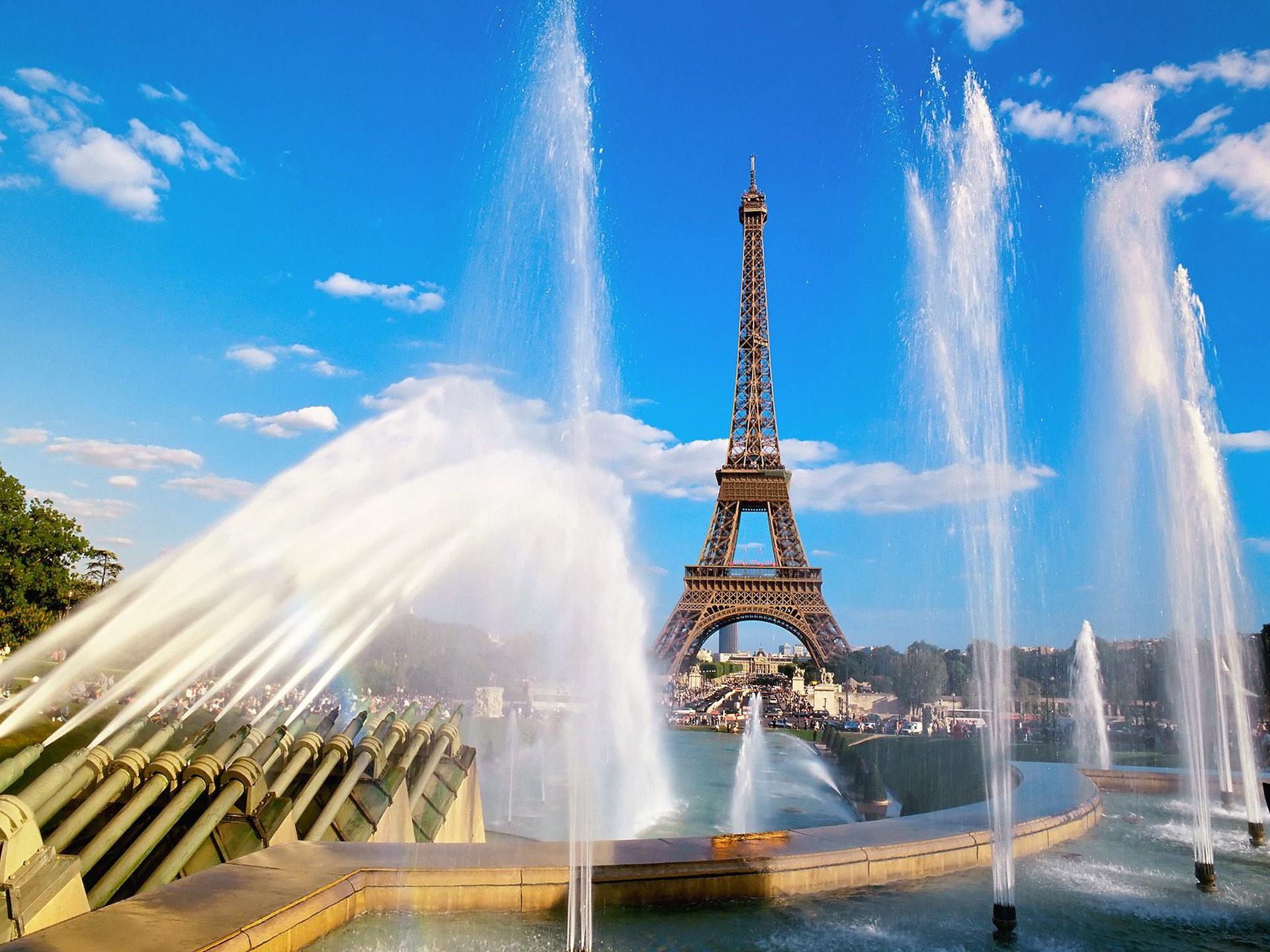 Francie - Paříž - Eiffelova věž