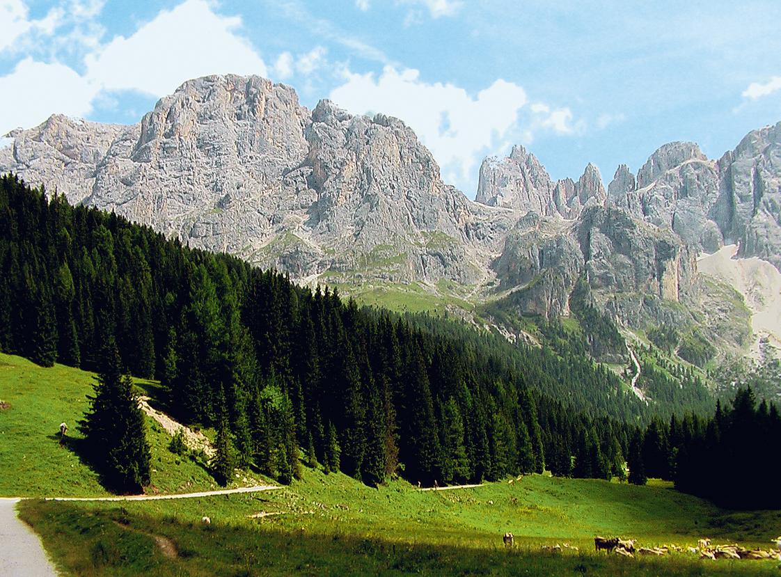 Rozmanité Dolomity - Alpe di Siusi, Brenta, Merano - bez nočních přejezdů
