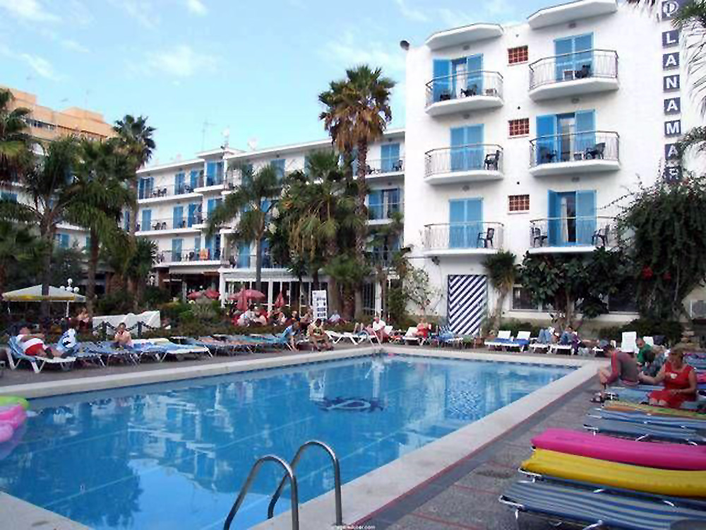 Malgrat De Mar Hotel Top Planamar Letecky Ideal Tour