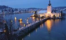 Advent u Mondsee a zámek Ort