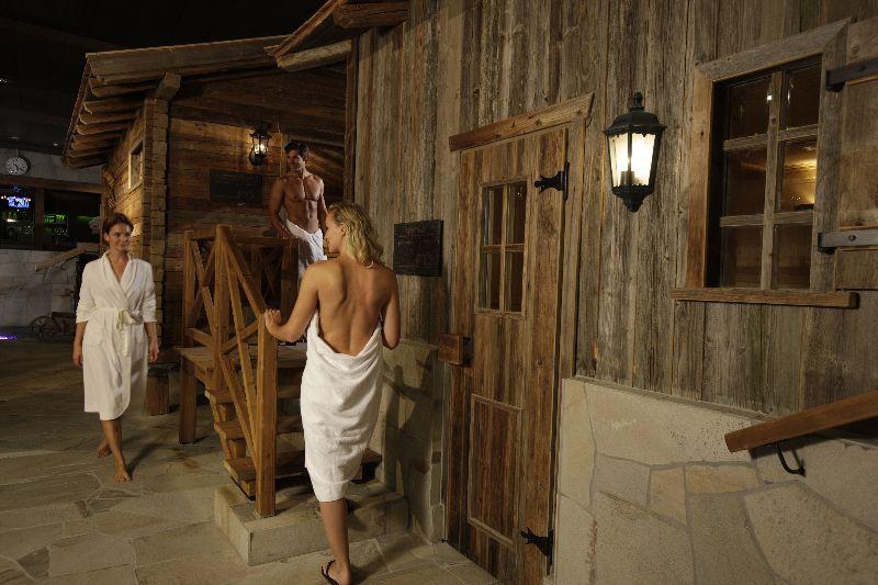 CH Leukerbad Alpentherme Sauna