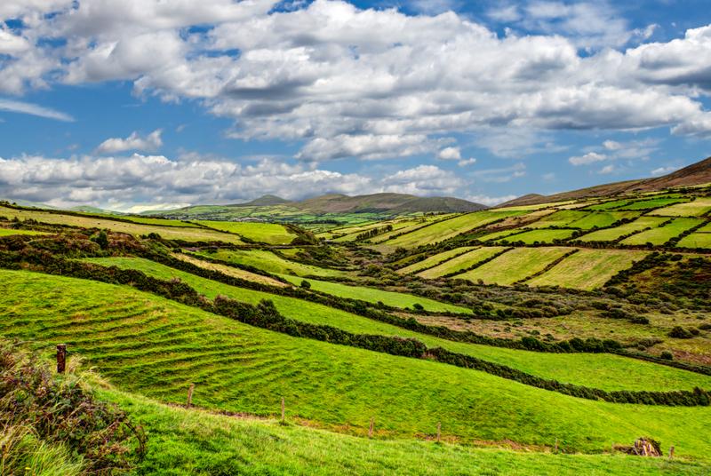 Foto - Irsko - Za přírodou, památkami, hudbou a whisky - letecky **