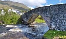 Nejkrásnější místa Skotska pěšky - hotel - bus