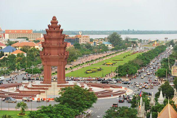Камбоджа Путешествия по миру