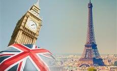 Paříž, Londýn a jižní Anglie