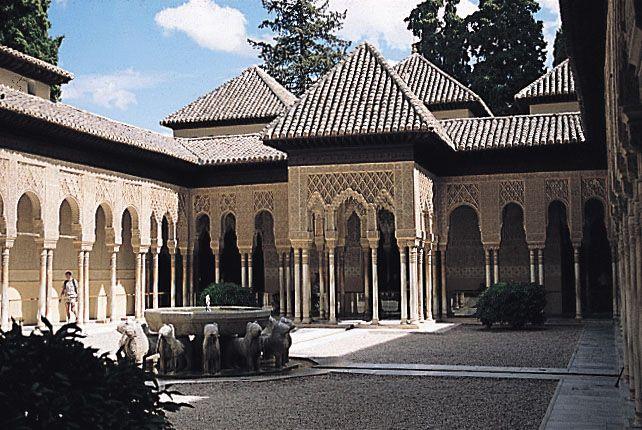 Alhambra - lví dvůr II