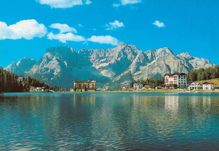Italie Lago di Misurina 2