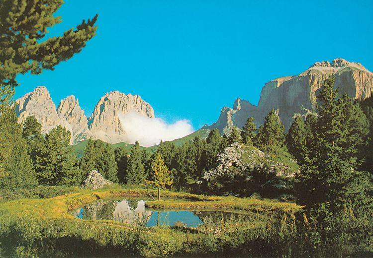 Italie Lago Pordoi