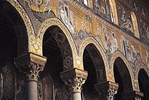 Itálie - Monreale - mozaiky