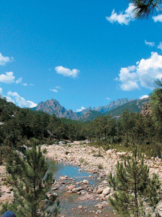 Korsica hory