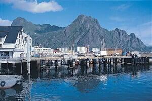 Norsko - Lofoty - molo