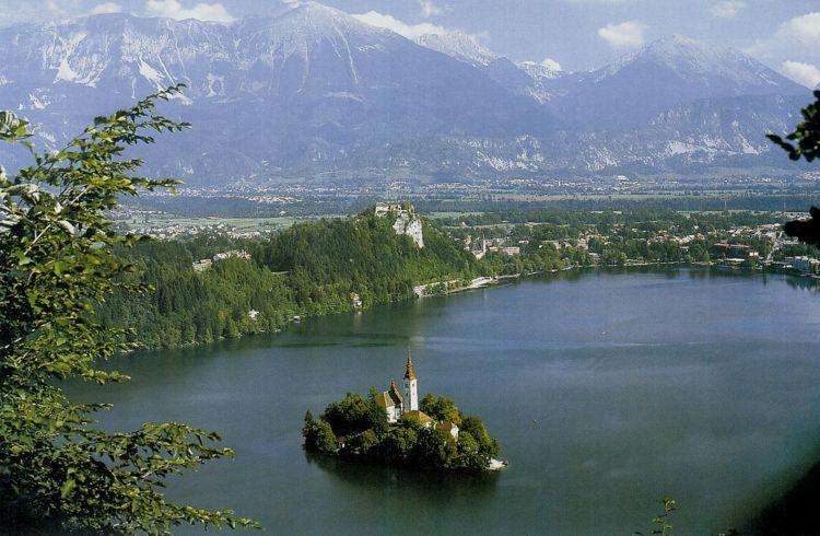 Slovinsko Bled