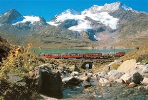 Svycarsko - vlak 4