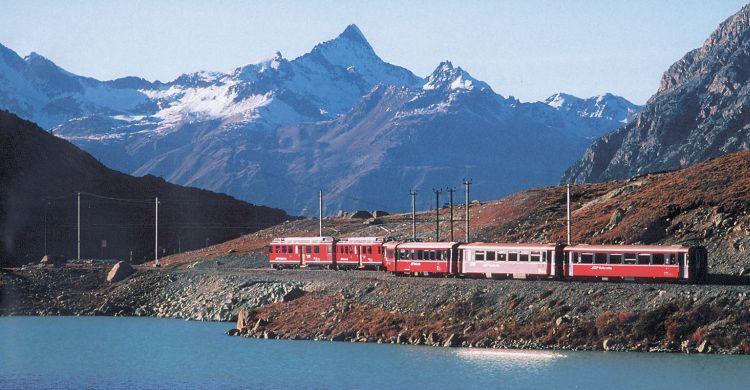 Švýcarsko - vlak 3