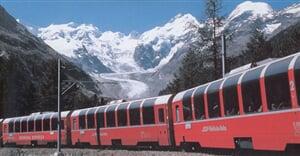 Švýcarsko - vlak 4