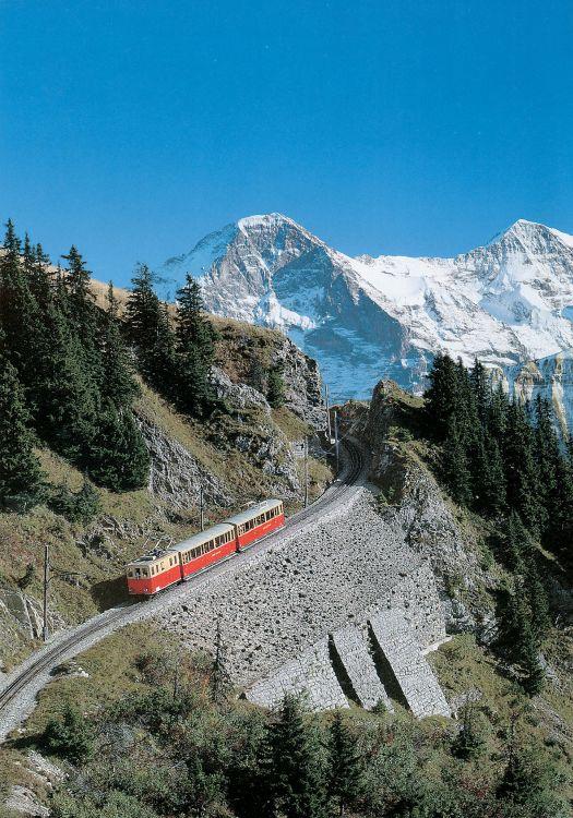 Švýcarsko - vlak 5