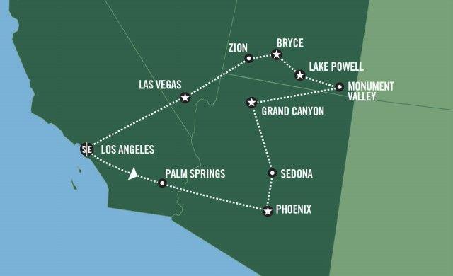 Nejkrasnejsi Narodni Parky Zapadu Usa Zajezd Ca Snadne
