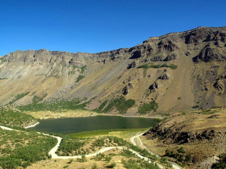 Kráter Nemrut 1