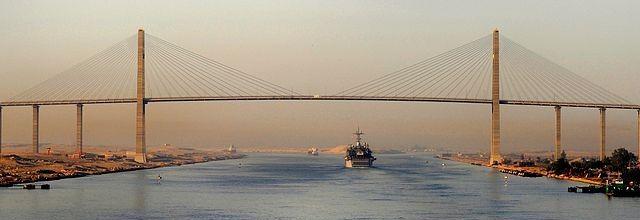 Suez Canal Bridge