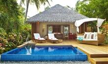 Maledivy - Severní Malé Atol - Banyan Tree Maddivaru (ex. Baros Maldives)*****+