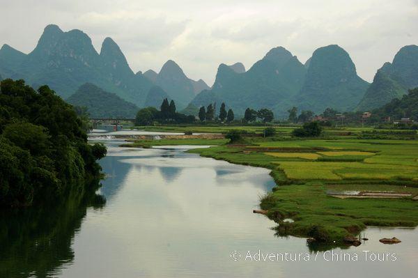 Yangshuo  řeka Yulong