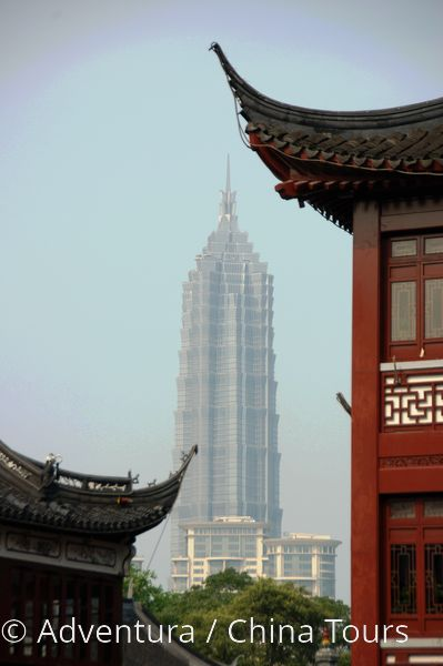 Šanghaj  věž Jinmao
