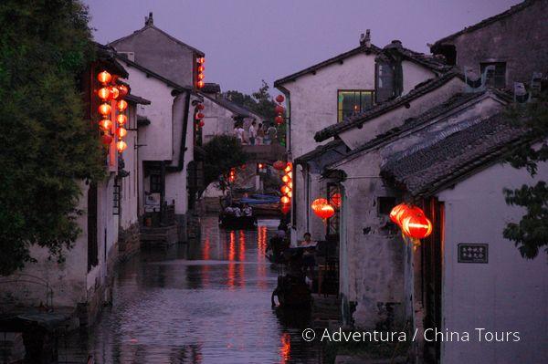 Zhouzhuang večer
